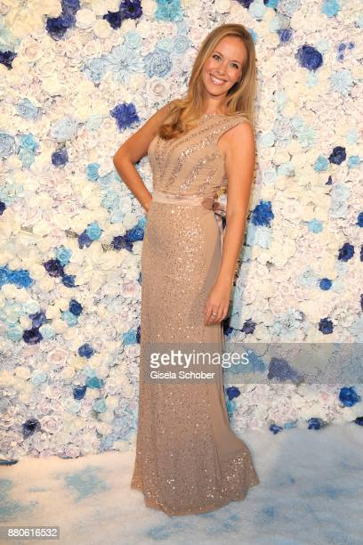 Stephanie Schlayer SKY moderator during the DressHeaven 2017 Christmas party by 'dresscoded' at Armani Caffe on November 27 2017 in Munich Germany