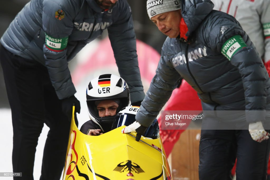 Bobsleigh - Winter Olympics Day 12
