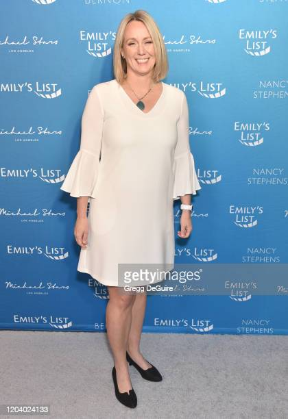 Stephanie Schriock attends EMILY's List 3rd Annual Pre-Oscars Event at Four Seasons Hotel Los Angeles at Beverly Hills on February 04, 2020 in Los...