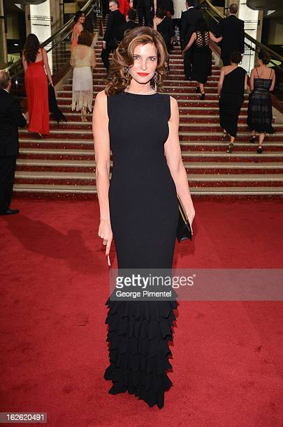 Stephanie Seymour arrives at the Oscars at Hollywood Highland Center on February 24 2013 in Hollywood California at Hollywood Highland Center on...