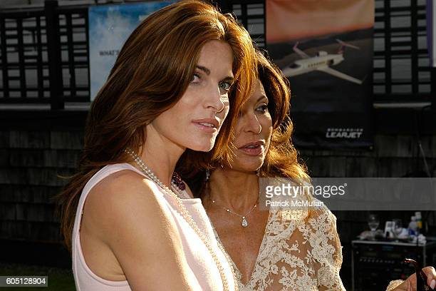 Stephanie Seymour Brant and Anne Marie Graff attend The GRAFF DIAMOND CUP Plays Host to the NYU Medical Center's Luncheon Chaired by Stephanie...