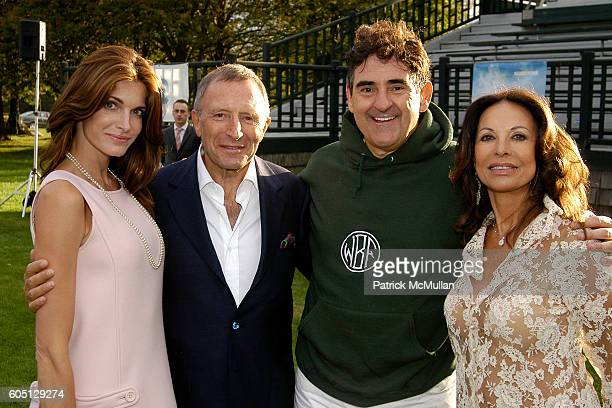 Stephanie Seymour Brant Laurence Graff Peter Brant and Anne Marie Graff attend The GRAFF DIAMOND CUP Plays Host to the NYU Medical Center's Luncheon...