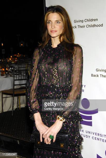 Stephanie Seymour during 2006 New York University Child Study Center Gala at Cipriani in New York City New York United States