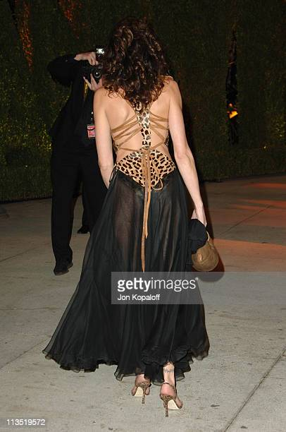 Stephanie Seymour during 2006 Vanity Fair Oscar Party at Morton's in West Hollywood California United States