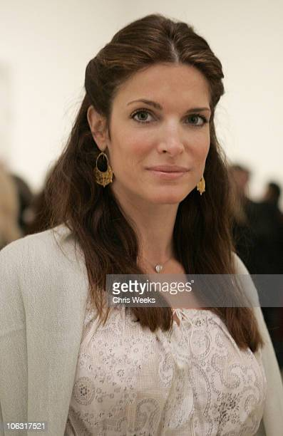 Stephanie Seymour during Christopher Wool Opening Reception at Gagosian Gallery at Gagosian Gallery in Beverly Hills, California, United States.