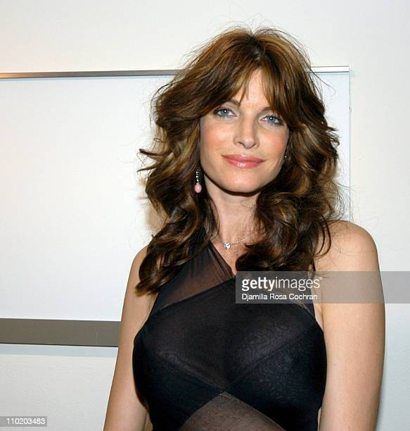 Stephanie Seymour during Guggenheim Style Event Honoring Azzedine Alaia at Solomon R Guggenheim Museum in New York City New York United States