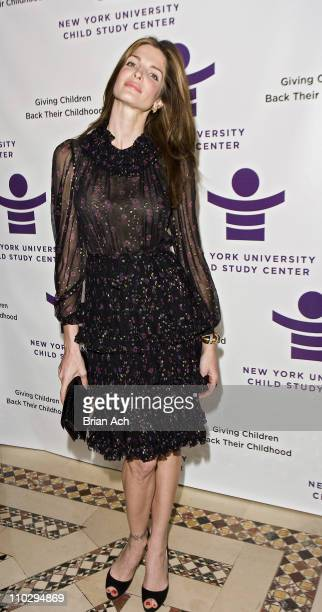 Stephanie Seymour during New York University Child Study Center Gala at Cipriani December 4 2006 at Cipriani in New York City New York United States