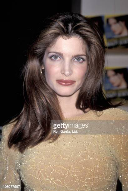 Stephanie Seymour during Stephanie Seymour Autographing 'Beauty Secrets for Dummies' January 19 1999 at Barnes and Noble in New York City New York...