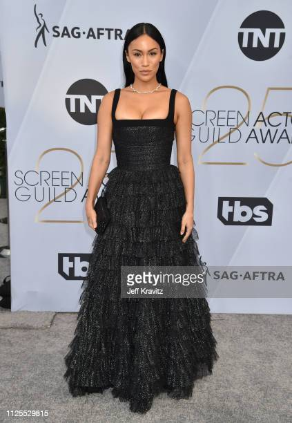 Stephanie Shepherd attends the 25th Annual Screen ActorsGuild Awards at The Shrine Auditorium on January 27, 2019 in Los Angeles, California.
