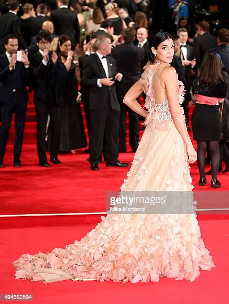 Stephanie Sigman attends the Royal Film Performance of Spectre at Royal Albert Hall on October 26 2015 in London England