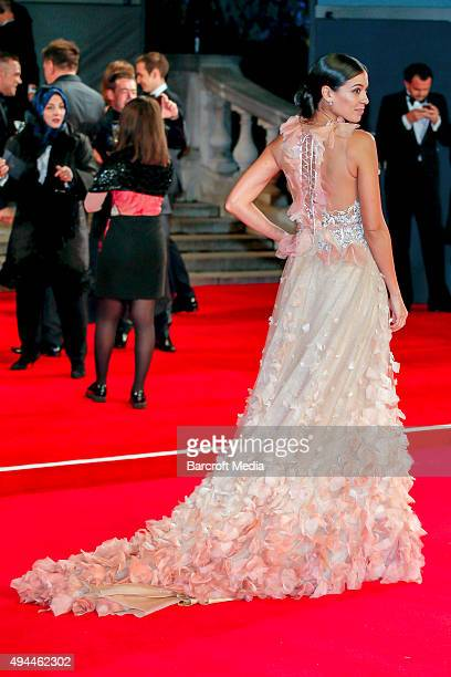 Stephanie Sigman attends the Royal Film Performance of 'Spectre' at Royal Albert Hall on October 26 2015 in London England PHOTOGRAPH BY PLehman /...