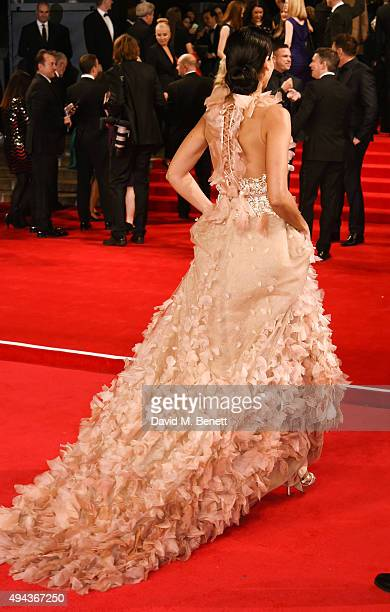 Stephanie Sigman attends the Royal World Premiere of Spectre at Royal Albert Hall on October 26 2015 in London England
