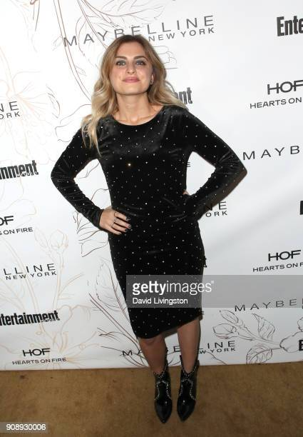 Stephanie Simbari attends Entertainment Weekly's Screen Actors Guild Award Nominees Celebration sponsored by Maybelline New York at Chateau Marmont...
