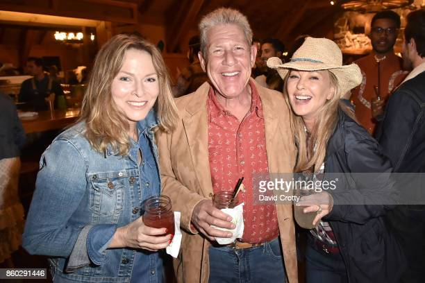 Stephanie Spencer Robert Bloomingdale and Tawny Sanders attend Hearst Castle Preservation Foundation Annual Benefit Weekend 'Hearst Ranch Patron...