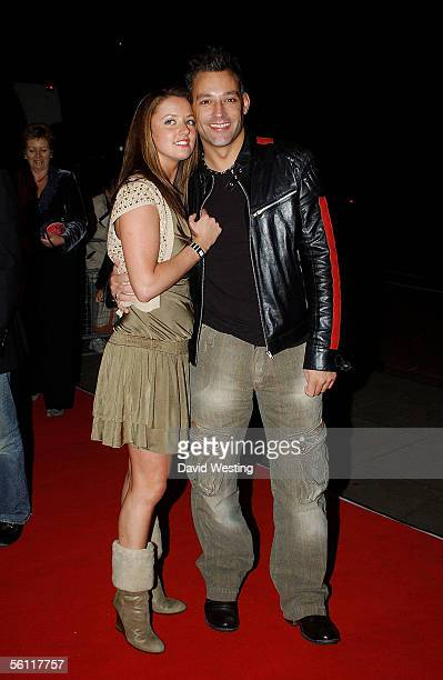Stephanie Stewart and presenter Toby Anstis arrive at the aftershow party following the UK premiere of In Her Shoes at the Grosvenor House Hotel...