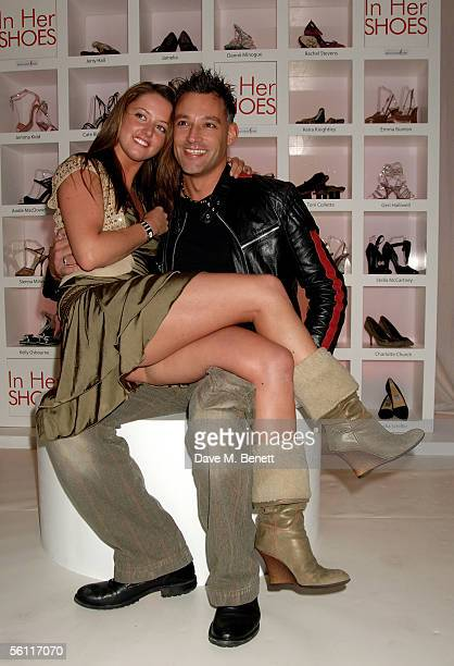 Stephanie Stewart and radio DJ Toby Anstis attend the aftershow party following the UK premiere of In Her Shoes at the Grosvenor House Hotel on...