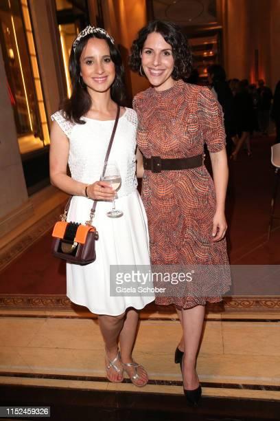 Stephanie Stumph and EvaMaria Reichert during the opening night of the Munich Film Festival 2019 Party at Hotel Bayerischer Hof on June 27 2019 in...