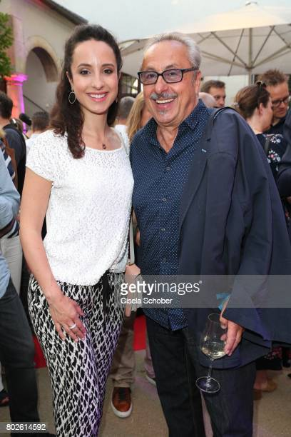 Stephanie Stumph and her father Wolfgang Stumph during the Bavaria Film reception during the Munich Film Festival 2017 at Kuenstlerhaus am...