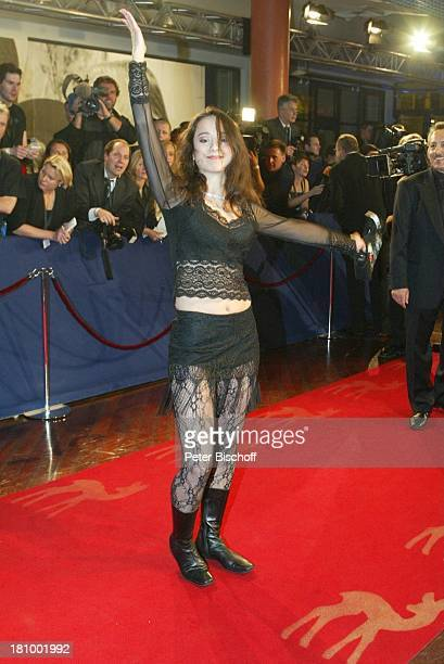 "Stephanie Stumph, ARD-Gala""Bambi 2002"" Preisverleihung, ""Estrell""Hotel, Berlin, Deutschland, Europa , Medienpreis, Empfang, ;P-Nr 1135/2002"