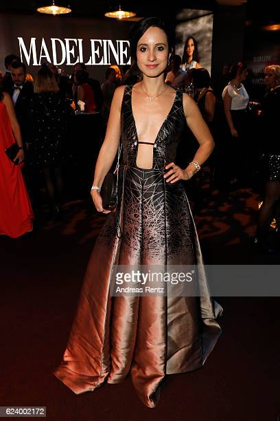 Stephanie Stumph attends the Bambi Awards 2016 party at Atrium Tower on November 17 2016 in Berlin Germany