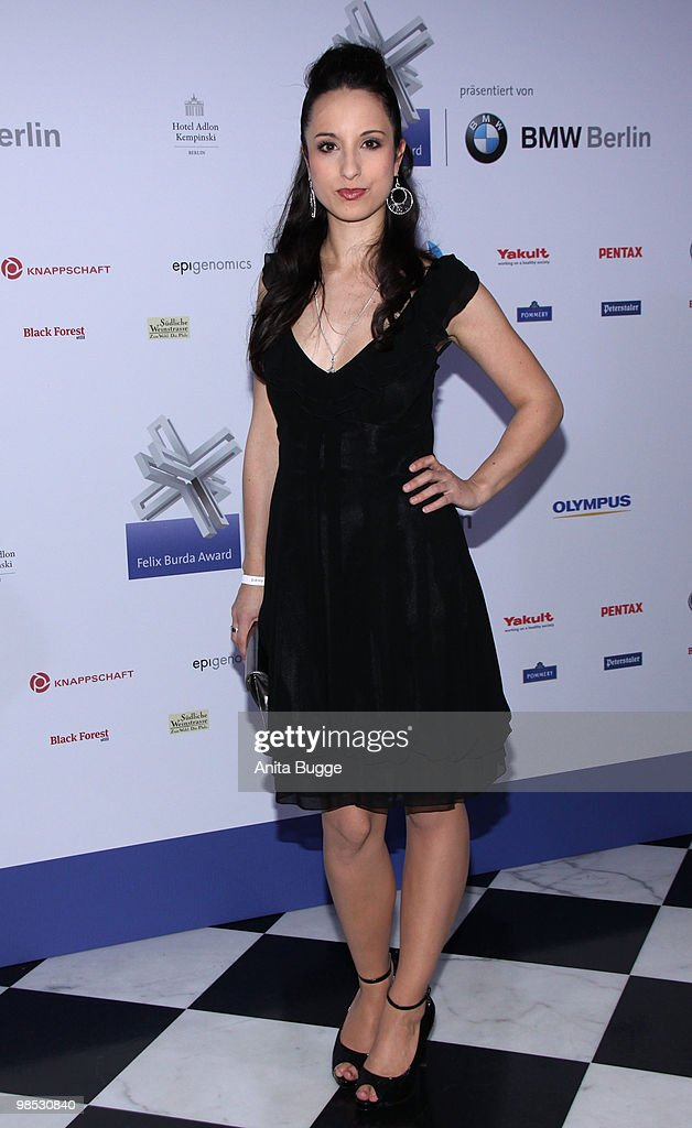 Stephanie Stumph attends the 'Felix Burda Award' at the Adlon hotel on April 18, 2010 in Berlin, Germany.