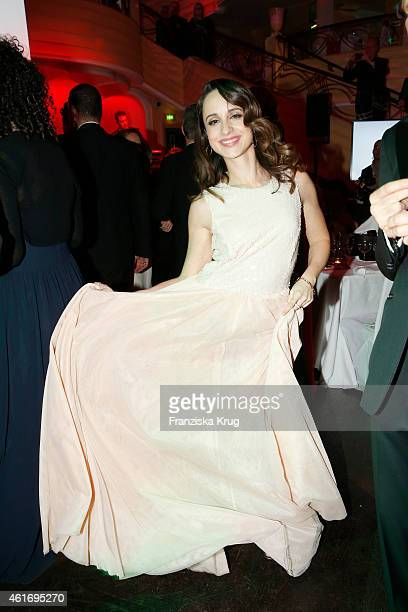 Stephanie Stumph attends the German Film Ball 2015 on January 17, 2015 in Munich, Germany.