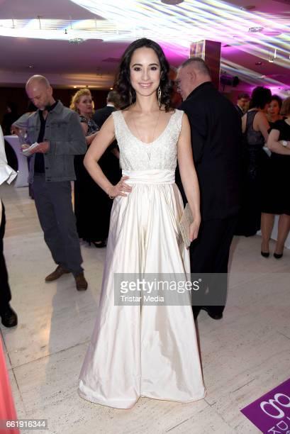 Stephanie Stumph attends the Gloria - Deutscher Kosmetikpreis 2017 at Hilton Hotel on March 31, 2017 in Duesseldorf, Germany.