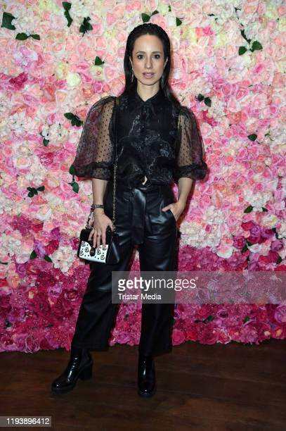 Stephanie Stumph attends the Thomas Sabo Spring/Summer 2020 press Cocktail during Berlin Fashion Week Autumn/Winter 2020 at China Club on January 15,...
