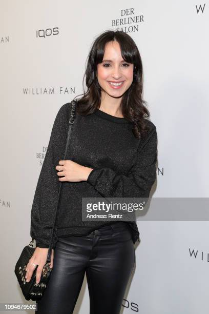 Stephanie Stumph attends the William Fan Defile during 'Der Berliner Salon' Autumn/Winter 2019 at Knutschfleck on January 15 2019 in Berlin Germany
