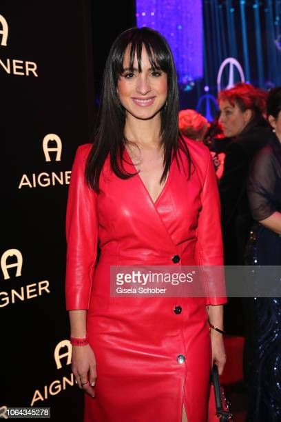 Stephanie Stumph during the Bambi Awards 2018 after party at Stage Theater on November 16, 2018 in Berlin, Germany.