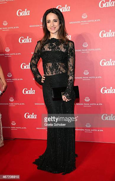 Stephanie Stumph during the Gala Spa Awards 2015 at Brenners Park-Hotel & Spa on March 21, 2015 in Baden-Baden, Germany.