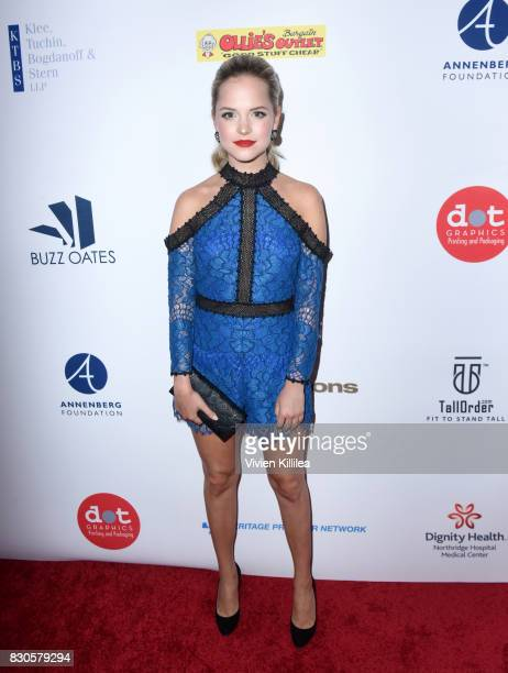 Stephanie Styles attends the 17th Annual Harold Carole Pump Foundation Gala at The Beverly Hilton Hotel on August 11 2017 in Beverly Hills California