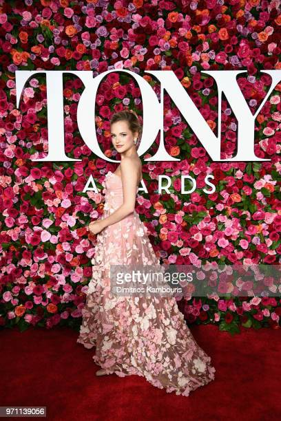Stephanie Styles attends the 72nd Annual Tony Awards at Radio City Music Hall on June 10 2018 in New York City