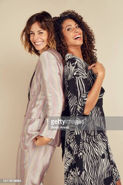 Stephanie Szostak and Christina Moses of ABC's 'A Million Little Things' pose for a portrait during the 2018 Summer Television Critics Association...