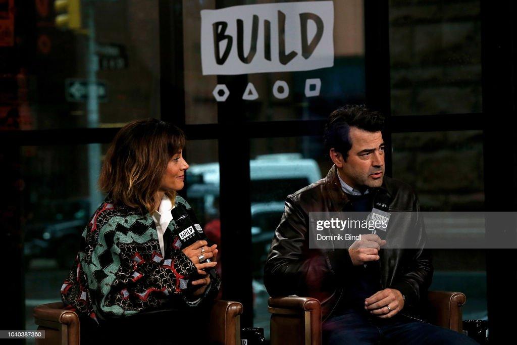 Celebrities Visit Build - September 25, 2018 : News Photo