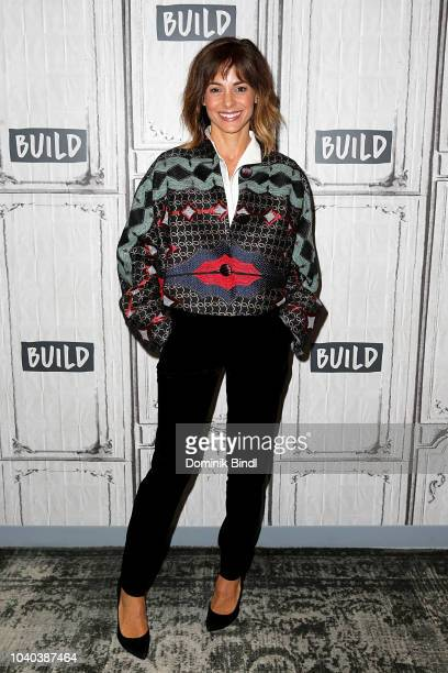 Stephanie Szostak attends the Build Series to discuss 'A Million Little Things' at Build Studio on September 25 2018 in New York City