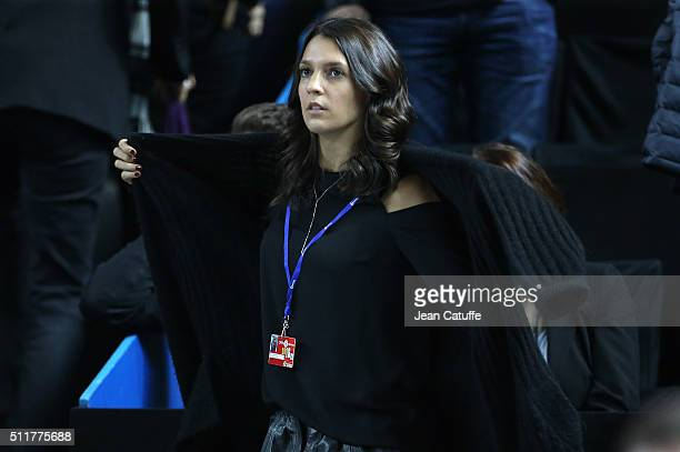 Stephanie Tuccitto, girlfriend of David Goffin of Belgium attends the Open 13, an ATP Tour 250 tournament at Palais des Sports on February 19, 2016...