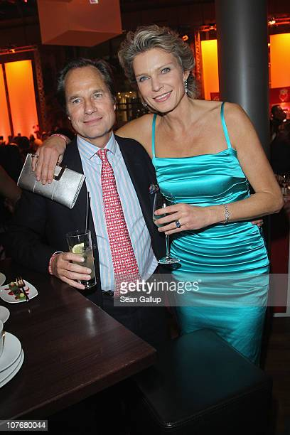 Stephanie von Pfuel and Hendrik teNeues attend the 'Ein Herz Fuer Kinder' charity gala at Axel Springer Haus on December 18 2010 in Berlin Germany