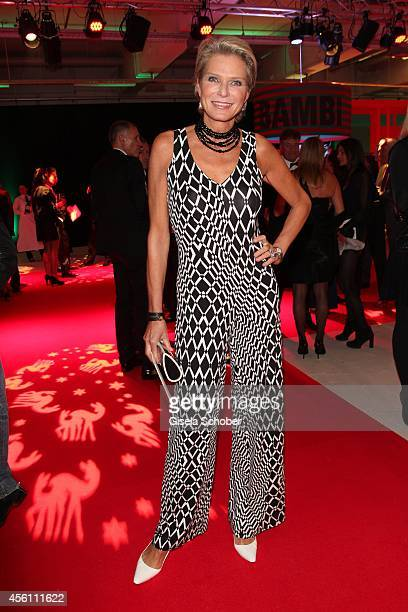 Stephanie von Pfuel arrives at Tribute To Bambi 2014 at Station on September 25 2014 in Berlin Germany