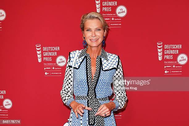 Stephanie von Pfuel attends the Deutscher Gruenderpreis on July 5 2016 in Berlin Germany