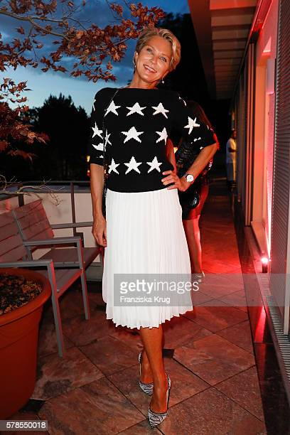 Stephanie von Pfuel attends the 'Dr Barbara Sturm NetAPorter' Dinner Party on July 21 2016 in Munich Germany