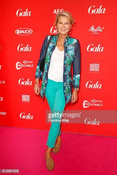 Stephanie von Pfuel attends the Gala Fashion Brunch during the MercedesBenz Fashion Week Berlin Spring/Summer 2018 at Ellington Hotel on July 7 2017...