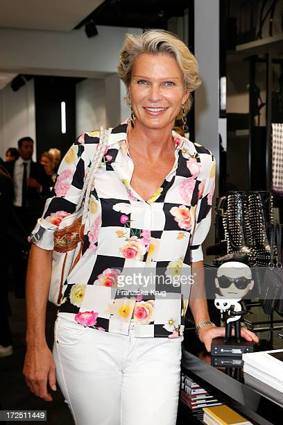 Stephanie von Pfuel attends the Karl Lagerfeld Concept Store Opening on July 02 2013 in Berlin Germany