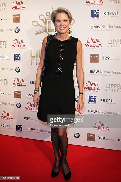 Stephanie von Pfuel attends the Lippert's Friseure L1 Reopening at Rilano No 6 on November 21 2013 in Munich Germany