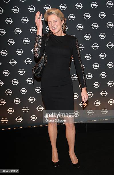 MUNICH GERMANY JANUARY Stephanie von Pfuel attends the presentation and vernissage of the calender THE ADAM BY BRYAN ADAMS for Opel at Haus der Kunst...