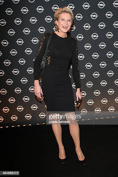 MUNICH GERMANY JANUARY Stephanie von Pfuel attends the presentation and vernissage of the calender 'THE ADAM BY BRYAN ADAMS' for Opel at Haus der...