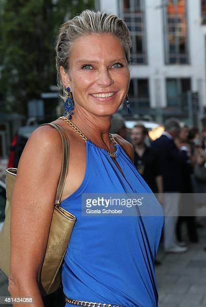 Stephanie von Pfuel during the opening of the Grey's Bar at H'Otello on July 20 2015 in Munich Germany