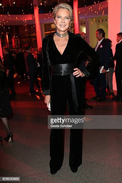 Stephanie von Pfuel during the PIN Party Let's party 4 art' at Pinakothek der Moderne on November 26 2016 in Munich Germany