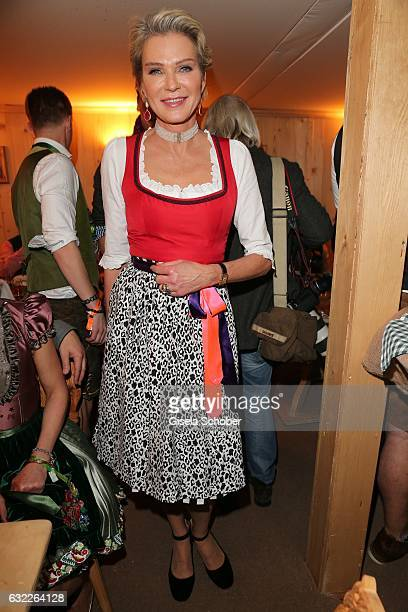 Stephanie von Pfuel during the Weisswurstparty at Hotel Stanglwirt on January 20 2017 in Going near Kitzbuehel Austria