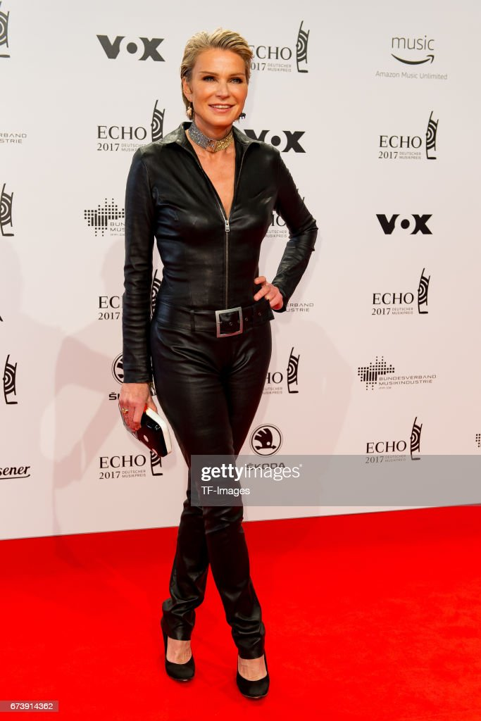 stephanie von pfuel on the red carpet during the echo german music news photo getty images. Black Bedroom Furniture Sets. Home Design Ideas